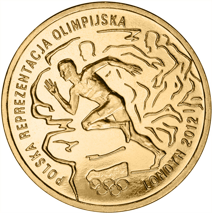 2 zloty Polish Olympic Team – London 2012 - 2012 - Series: Commemorative 2 zloty coins - Poland