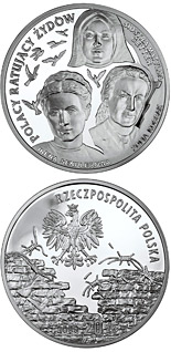 20 zloty Irena Sendlerowa, Zofia Kossak-Szczucka and Sister Matylda Getter - 2009 - Series: Poles Who Saved the Jews - Poland
