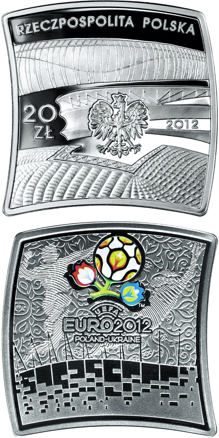 Image of a coin 20 zloty | Poland | UEFA EURO 2012 | 2012