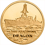 2 zloty coin Dragon - Light cruiser | Poland 2012