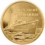 2 zloty coin Piorun - Destroyer | Poland 2012