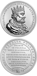 50 zloty coin Boleslaw I the Brave | Poland 2013