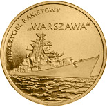 2 zloty coin Warszawa Guided-missile Destroyer | Poland 2013