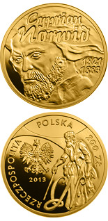2 zloty coin Cyprian Norwid | Poland 2013
