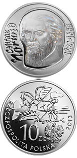 200 zloty coin Cyprian Norwid | Poland 2013
