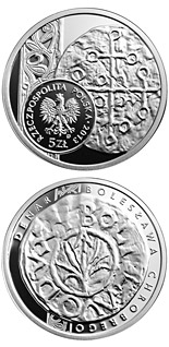 5 zloty coin Denarius of Boleslaw I the Brave | Poland 2013