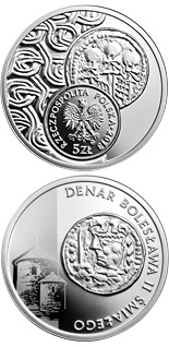 5 zloty coin Denarius of Boleslaw II the Bold | Poland 2013