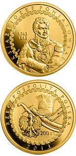 200 zloty coin 200th Anniversary of the Death of Prince Józef Poniatowski | Poland 2013