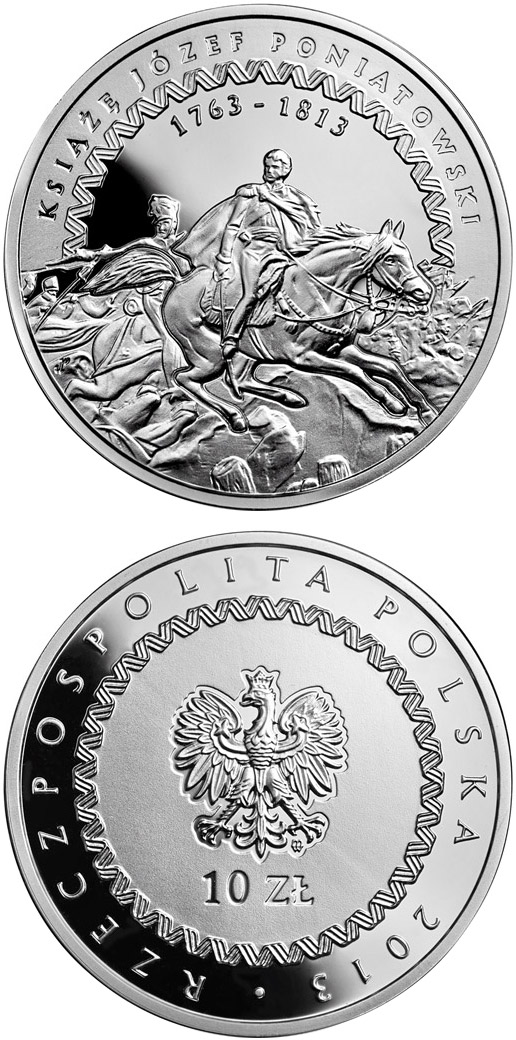 10 zloty 200th Anniversary of the Death of Prince Józef Poniatowski - 2013 - Poland