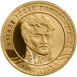 2 zloty coin 200th Anniversary of the Death of Prince Józef Poniatowski | Poland 2013