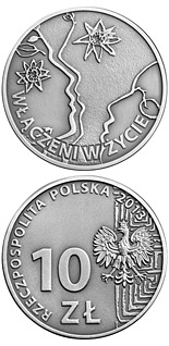 10 zloty coin 50th anniversary of the Polish Society for the Mentally Handicapped | Poland 2013