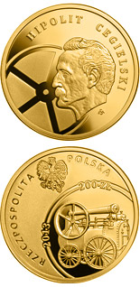 200 zloty coin 200th Anniversary of the Birth of Hipolit Cegielski | Poland 2013
