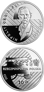 10 zloty coin 200th Anniversary of the Birth of Hipolit Cegielski | Poland 2013