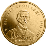 2 zloty coin 200th Anniversary of the Birth of Hipolit Cegielski | Poland 2013
