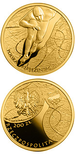 200 zloty coin Polish Olympic Team Sochi 2014 | Poland 2014