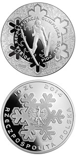 10 zloty coin Polish Olympic Team Sochi 2014 | Poland 2014
