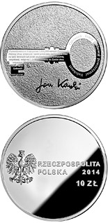 10 zloty coin Centenary of the birth of Jan Karski  | Poland 2014