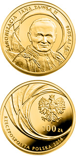 100 zloty coin Canonisation of John Paul II, 27 IV 2014 | Poland 2014