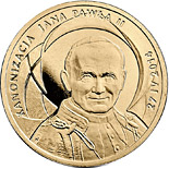 2 zloty coin Canonisation of John Paul II, 27 IV 2014 | Poland 2014