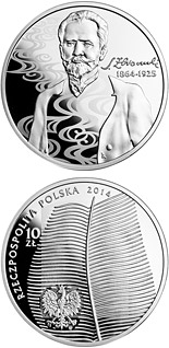 10 zloty coin 150th anniversary of the birth of Stefan Żeromski  | Poland 2014