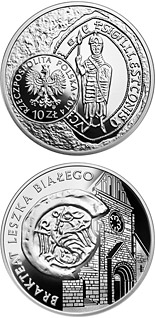 10 zloty Leszek I the White – bracteate  - 2014 - Series: History of Polish Coin - Poland