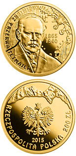 200 zloty coin 150th Anniversary of the Birth of Kazimierz Przerwa-Tetmajer | Poland 2015