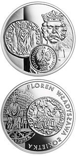 20 zloty coin Florin of Ladislas the Elbow-high | Poland 2015