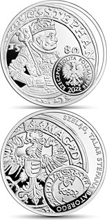 20 zloty coin Schilling and the thaler of King Stephen Bathory  | Poland 2016