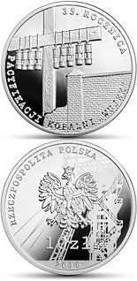 "10 zloty coin The 35th anniversary of the pacification of the ""Wujek"" Coal Mine  