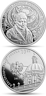 10 zloty coin 200th Anniversary of the Ossoliński National Institute | Poland 2017