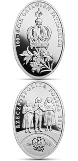 10 zloty coin 100th Anniversary of the Apparitions of Fatima | Poland 2017