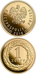 1 zloty coin 100th Anniversary of Regaining Independence by Poland | Poland 2018