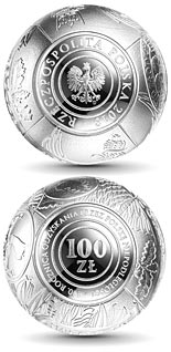 100 zloty coin 100th Anniversary of Regaining Independence by Poland | Poland 2018