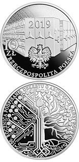 10 zloty coin 100th Anniversary of the Signing of the State Archives Decree | Poland 2019