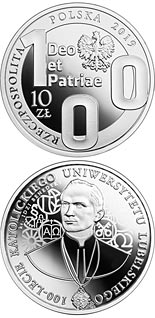 10 zloty coin 100th Anniversary of the Catholic University of Lublin | Poland 2019
