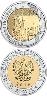 5 zloty coin The Monuments of Frombork  | Poland 2019