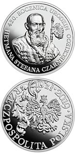 10 zloty coin 420th Anniversary of the Birth of Hetman Stefan Czarniecki | Poland 2019