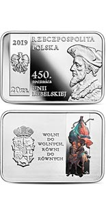 20 zloty coin 450th Anniversary of the Union of Lublin | Poland 2019