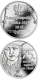 10 zloty coin 75th Anniversary of the Romani and Sinti Genocide | Poland 2019