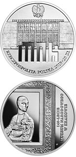 20 zloty coin 140th Anniversary of the National Museum in Kraków | Poland 2019