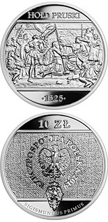 10 zloty coin Prussian Homage | Poland 2019