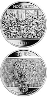 10 zloty coin Russian Homage | Poland 2019