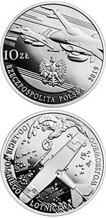 10 zloty coin 100th Anniversary of Polish Military Aviation | Poland 2019