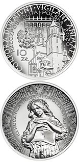 10 zloty coin 10th Anniversary of the Smolensk Tragedy  | Poland 2020