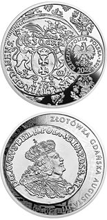 20 zloty coin The Gdansk Złoty of Augustus III  | Poland 2020