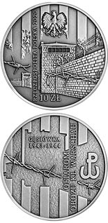 10 zloty coin To Victims of the KL Warschau Concentration Camp | Poland 2020