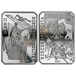 10 zloty Uhlan of the Second Republic of Poland   - 2011 - Series: History of the Polish Cavalry  - Poland