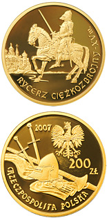 200 zloty The Mounted Knight 15th Century - 2007 - Series: History of the Polish Cavalry  - Poland