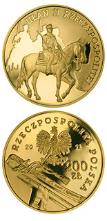 200 zloty Uhlan of the Second Republic of Poland   - 2011 - Series: History of the Polish Cavalry  - Poland