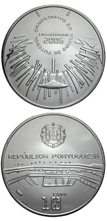 10 euro coin XVIII. FIFA Football World Cup in Germany  | Portugal 2006